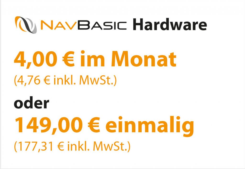 NavBasic Hardware 149 € netto