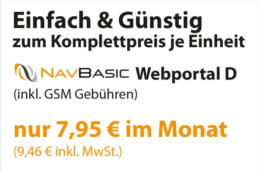 NavBasic Webportal 7,95€ netto
