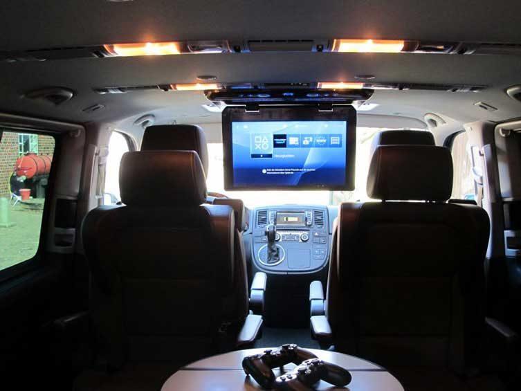 Car Media Deckenmonitor nachrüsten